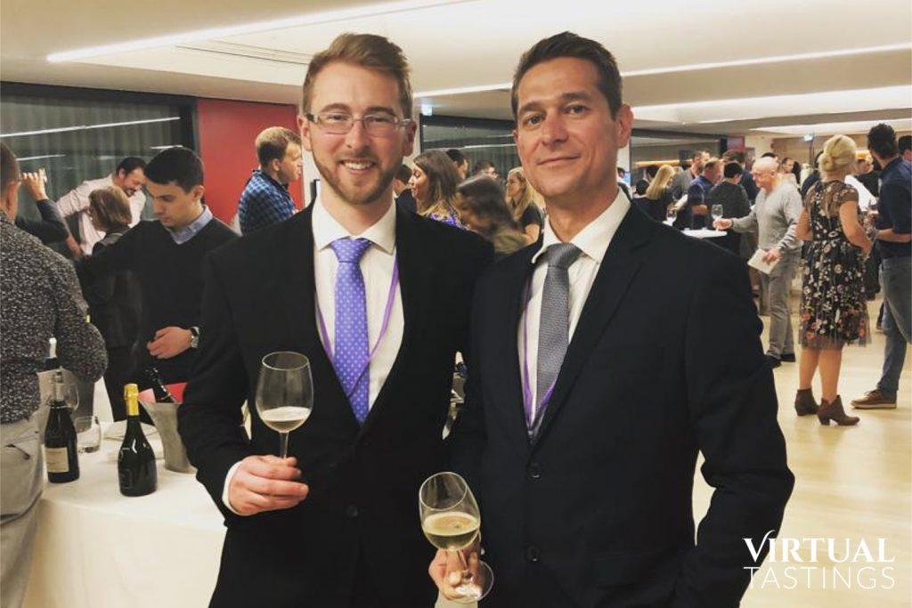 Novel Wines founders Ben Franks and Gyorgy Zsiga