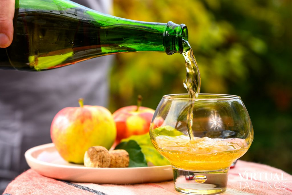 Book a virtual cider tasting event