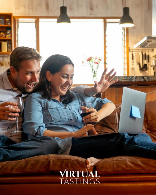 Virtual Wine Tasting at Home